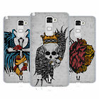 HEAD CASE DESIGNS TATTOO WINGS SOFT GEL CASE FOR LG PHONES 3