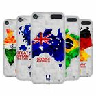 HEAD CASE DESIGNS GEOMETRIC MAPS SOFT GEL CASE FOR APPLE iPOD TOUCH MP3