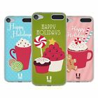 HEAD CASE DESIGNS HOLIDAY TREATS SOFT GEL CASE FOR APPLE iPOD TOUCH MP3