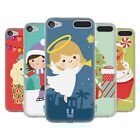 HEAD CASE DESIGNS JOLLY CHRISTMAS TOONS SOFT GEL CASE FOR APPLE iPOD TOUCH MP3
