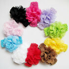 newborn toddler hair band lace flower girls headwear baby headband 1pcs Wide