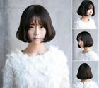 NEW Women Lady Costume Party Curl wavy Short Natural Fringe Full Hair Wigs