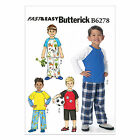 Butterick 6278 Easy Sewing Pattern to MAKE Childrens' Top, Shorts & Pants