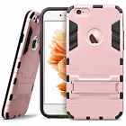 Armor Shockproof Phone Cover PC Silcone Hard Case For Apple iPhone 7 6 6s Plus