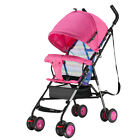 New Baby Stroller Toddler Pram Lightweight Compact Pushchair Foldable Buggy