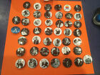 """mint APPLE PINS """" THINK DIFFERENT * RARE 45 pins"""