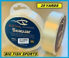 SEAGUAR BLUE LABEL FLUOROCARBON Leader 25YD YARDS PICK YOUR SIZE! FREE USA SHIP!