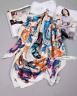 NWT Alexande Mcqueen MCQ Totem Design Pure Silk Scarf 2016 New Arrival Recommend