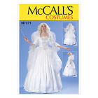 McCall's 7271 Paper Sewing Pattern to MAKE Fairy Costplay Pantomime Costumes
