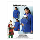 Butterick 6301 Sewing Pattern to MAKE Jacket Converts for Maternity & Baby Carry
