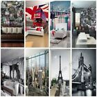 WORLD CITIES WALL MURALS - LONDON, PARIS, NEW YORK + MORE