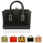 Ladies Women's Quality High Fashion Faux Leather Designer Celebrities Tote Bags