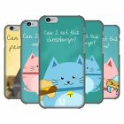 HEAD CASE DESIGNS CURIOUS CATS HARD BACK CASE FOR APPLE iPHONE PHONES