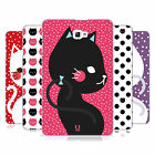 HEAD CASE DESIGNS CATS AND DOTS HARD BACK CASE FOR SAMSUNG TABLETS 1