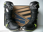 NEW AXO MOTOCROSS ENDURO TRAIL BOOTS BLACK RMZ KDX KXF YZF XR DR EXC SXF EC BETA