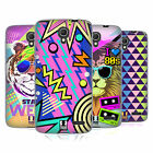 HEAD CASE DESIGNS BACK TO THE 80S SOFT GEL CASE FOR ALCATEL PHONES