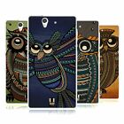 HEAD CASE DESIGNS TRIBAL OWLS SOFT GEL CASE FOR SONY PHONES 2
