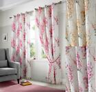 TOKYO FULLY LINED RINGTOP CURTAINS ~ Three Colours & Sizes
