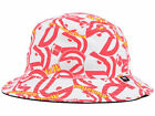 Atlanta Hawks NBA HWC Bravado All Over Retro Team Logos Bucket Floppy Hat Cap GA on eBay
