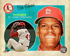 Bob Gibson St. Louis Cardinals MLB Licensed Fine Art Prints (Select Photo/Size)