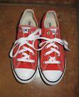 Converse All Star Chuck Taylor Cherry tomato orange Oxford sneaker shoes 3 Youth