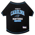 Carolina Panthers NFL dog pet Sport Tee Shirt  (all sizes) $13.49 USD on eBay