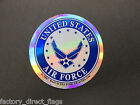 US AIR FORCE NEW LOGO MILITARY DECAL STICKER WINDOW DC0007A
