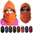 Thermal Motorcycle Cycling Bike Balaclava Ski Face Mask Neck Hood Hat Helmet OD
