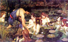 Hylas and the Nymphs by Waterhouse (Classic Mythic Art)