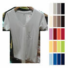 UNIQLO Women SUPIMA COTTON V Neck Short Sleeve T-Shirt Choose Colors NEW 163143