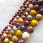 Wholesale 4/6/8/10/12mm Mookaite Gem round loose beads 15.5inch YSZ04