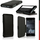 PU Leather Flip Case for HTC One A9 (2015) Stand Book Folio Cover + Screen Prot