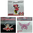 Betty Boop She 4 Life Pink Ribbon Minnie Mouse Full Character ClingBling Decals $9.95 USD