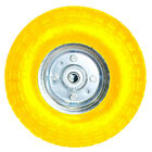 "10"" PNEUMATIC SACK TRUCK TROLLEY WHEEL BARROW TYRE TYRES GARDEN HAND NEW YELLOW"