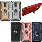 For LG K7 / Tribute 5 COMBO Belt Clip Holster Case Phone Kick Stand Cover