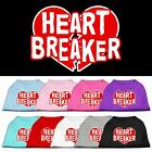 Heart Breaker Valentines Day Dog Shirt Pet Puppy Clothes Apparel Funny Dog Tee