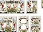 ITALIAN CHEF IN THE GARDEN LIGHT SWITCH COVER PLATE  U PICK PLATE SIZE
