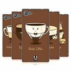 HEAD CASE DESIGNS COFFEE PERSONALITIES SOFT GEL CASE FOR SONY XPERIA Z5 COMPACT