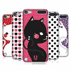 HEAD CASE DESIGNS CATS AND DOTS HARD BACK CASE FOR APPLE iPOD TOUCH 5G 6G