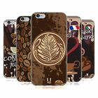 HEAD CASE DESIGNS COFFEE ADDICT SOFT GEL CASE FOR APPLE iPHONE 6 6S
