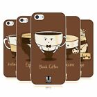 HEAD CASE DESIGNS COFFEE PERSONALITIES SOFT GEL CASE FOR APPLE iPHONE 5C