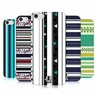 HEAD CASE DESIGNS PRINTED STRIPES HARD BACK CASE FOR APPLE iPHONE 5 5S