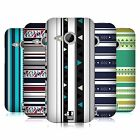 HEAD CASE DESIGNS PRINTED STRIPES HARD BACK CASE FOR HTC ONE MINI 2