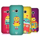 HEAD CASE DESIGNS ROBOT KIDS HARD BACK CASE FOR HTC ONE MINI 2