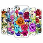 HEAD CASE DESIGNS WATERCOLOURED FLOWERS HARD BACK CASE FOR APPLE iPHONE 5C
