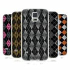 HEAD CASE DESIGNS ARGYLE INSPIRED WHIRLS GEL CASE FOR SAMSUNG GALAXY S5 S5 NEO