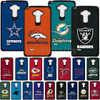 Official NFL Shock Impact Hybrid Case  for LG G Stylo LS770 G4 Note Fan Cover