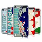 HEAD CASE DESIGNS BANDIERE E MONUMENTI COVER RETRO PER APPLE iPOD TOUCH 5G 6G