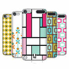 HEAD CASE DESIGNS MOD PATTERN COVER RETRO RIGIDA PER APPLE iPOD TOUCH 5G 6G