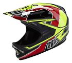 Troy Lee Designs 2016 D2 Composite Sonar Yellow Helmet Adult All Sizes